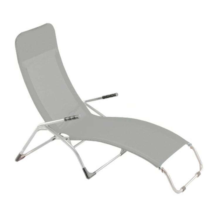 Fiam - Terrace lounger Samba , aluminium / grey