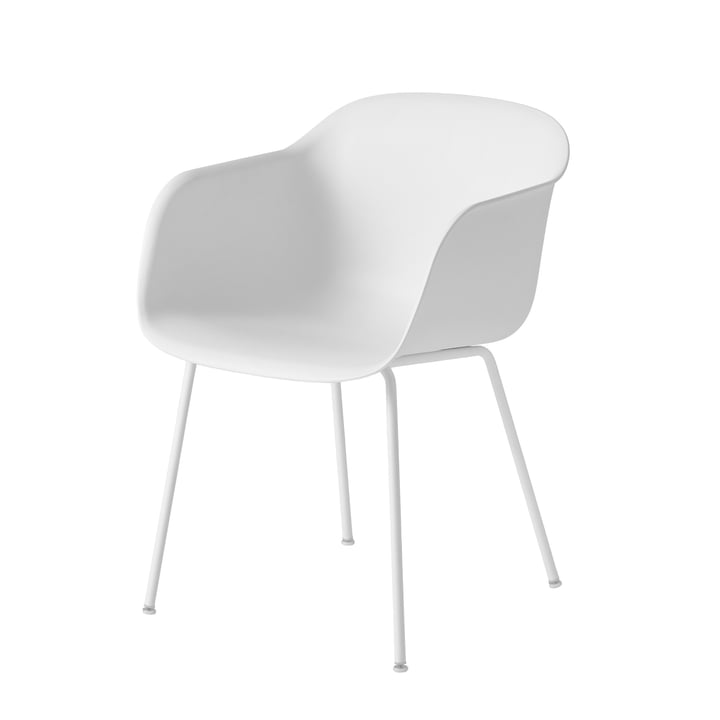 Muuto Fiber Chair Tube white