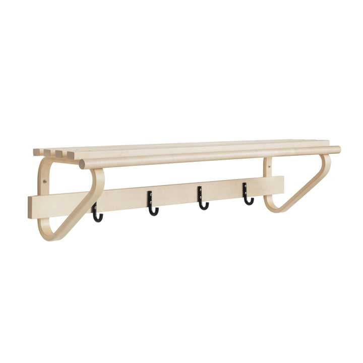 Artek - 109C Coat Rack, birch / natural lacquered