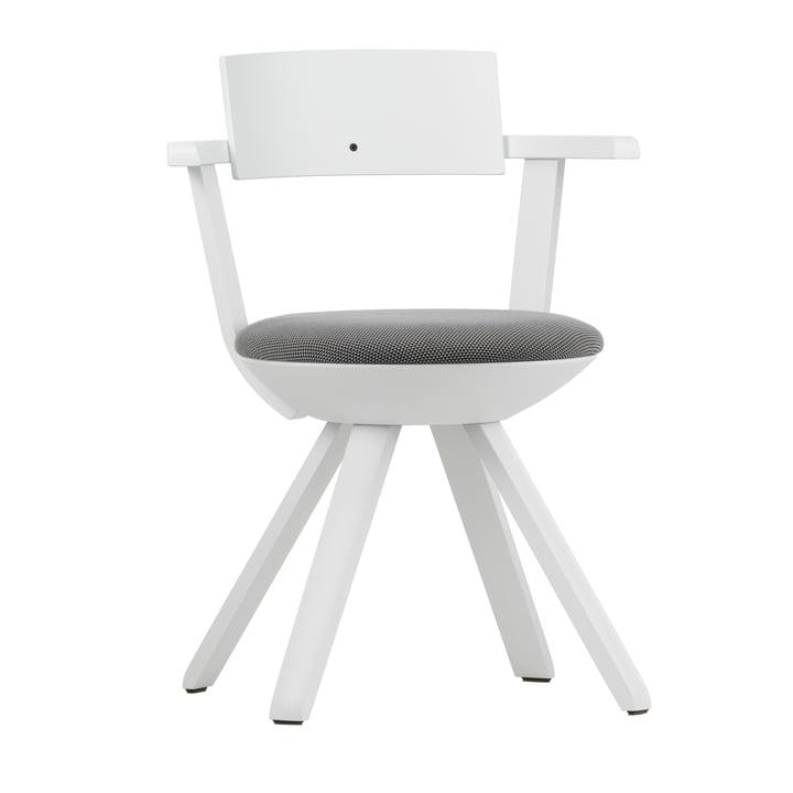 Artek - KG 002 Rival Chair high white, white, black / white