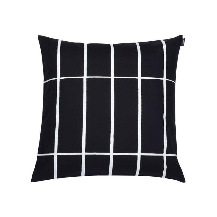 The Marimekko - Tiiliskivi Cushion cover 50 x 50 cm, black / white