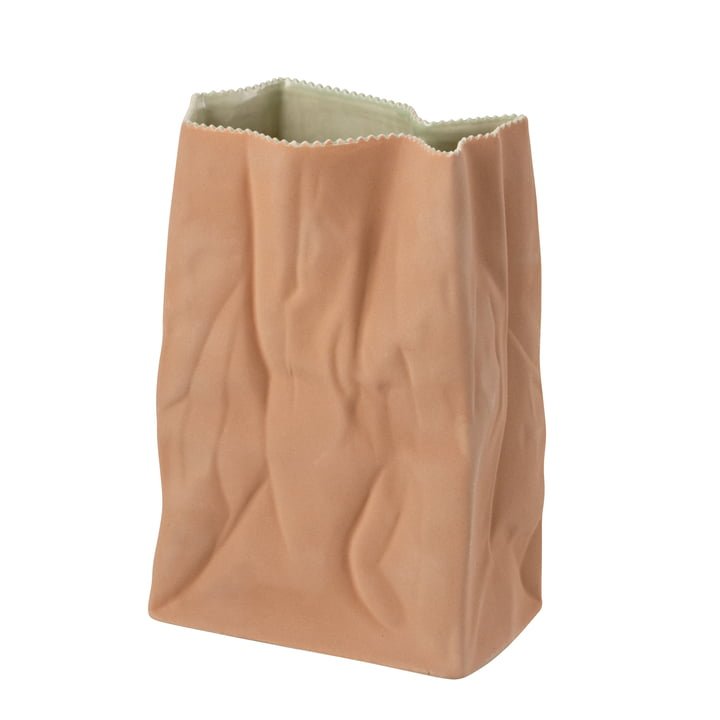 Rosenthal - Paper Bag Vase, 28 cm, light brown