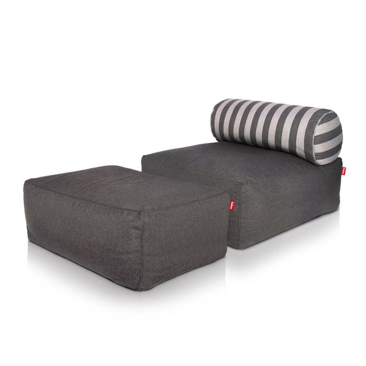 Fatboy - Jonge, dark grey, Tsjonge dark grey / grey stripes