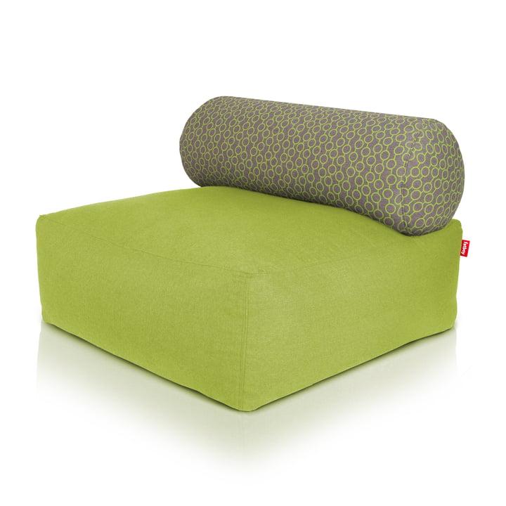 Fatboy - Tsjonge beanbag, green, light grey / green circles