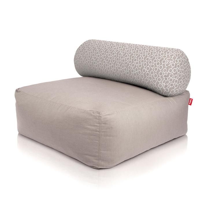 Fatboy - Tsjonge beanbag, light grey / white circles