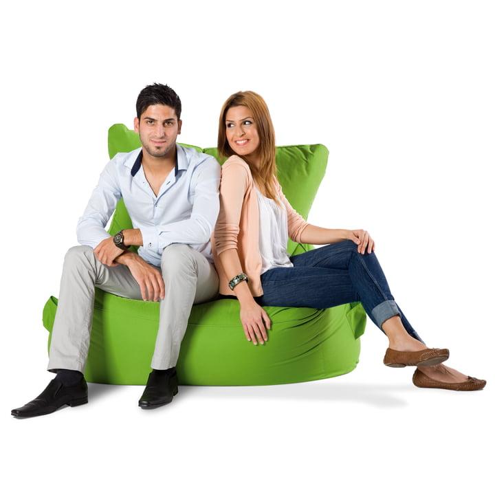 Sitting Bull - Chill Love Seat, green