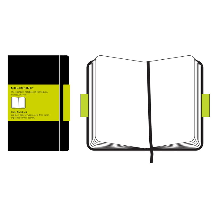 Moleskine - notebook- black
