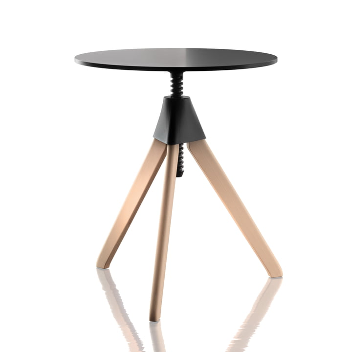 Magis - Topsy The Wild Bunch Side table, beech natural / black