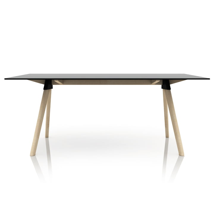 Magis - Butch The Wild Bunch Dining table, beech natural / black