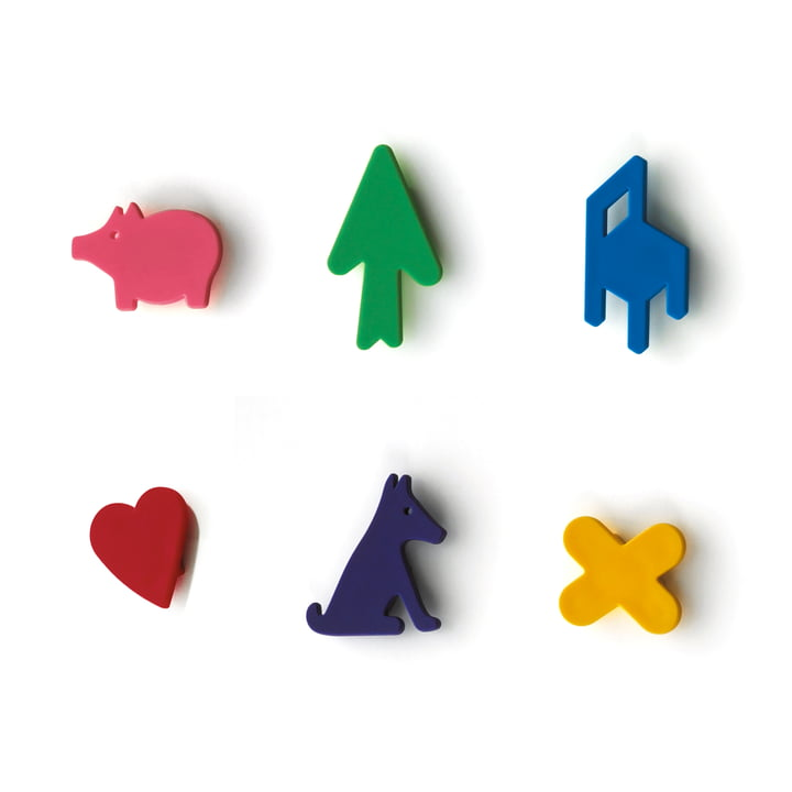 Magis - Set of magnets for the magnetic Memo board (set of 6)