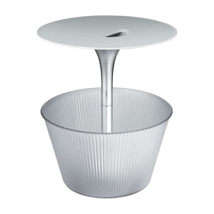 Alessi - Pick-Up Side Table, chrome-plated