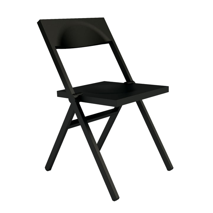 Alessi and Lamm - Alessichair Piana Folding Chair, black