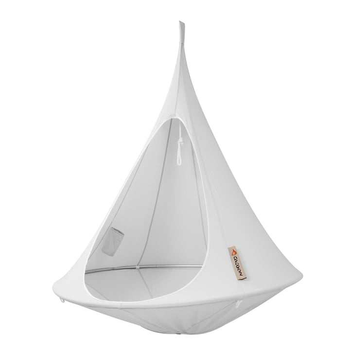 Cacoon - Single Hanging Chair, light-grey
