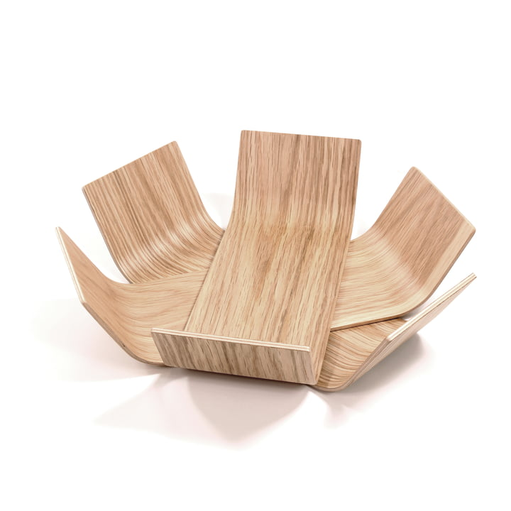 BeDesign - Lily bowl small, oak lacquered