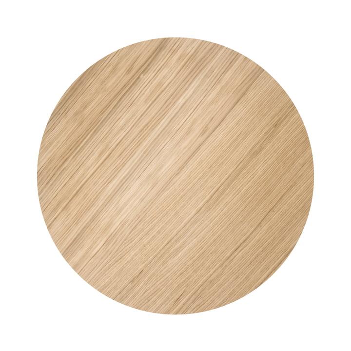 ferm living - Wire Basket Top Medium, oiled oak