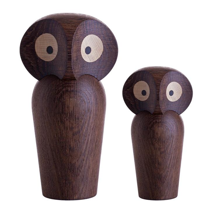 ArchitectMade - Owl Small / Large, oak smoked
