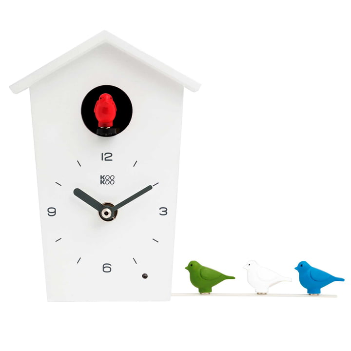 KooKoo - Bird House Mini, white