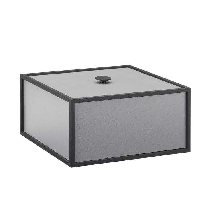 Frame Box by by Lassen in dark grey
