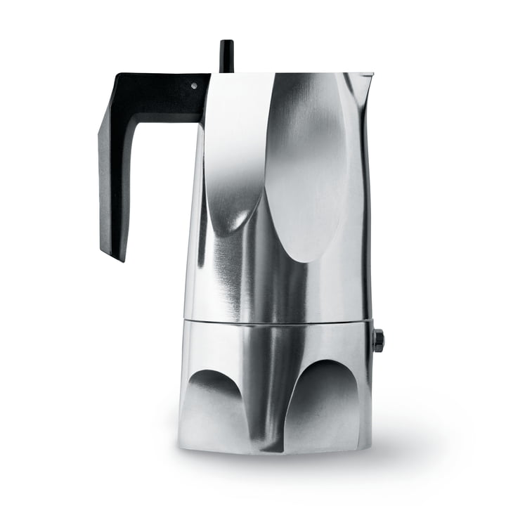 Alessi - MT18/3 Ossidiana espresso machine