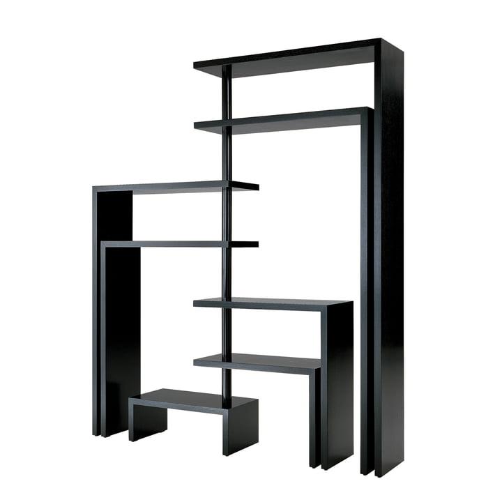Zanotta - Joy Seven Rotating Shelf Unit, black