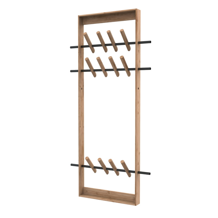 Coat Frame from We Do Wood in Bamboo nature / Steel