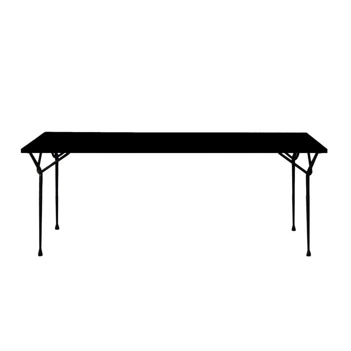 Magis - Officina dining table 200 cm, black / black