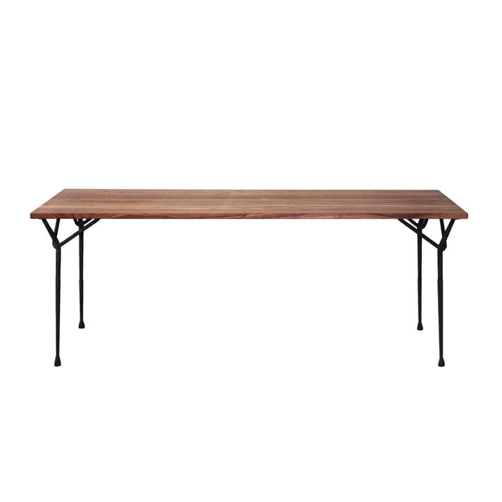 Magis - Officina dining table 200 cm, black / ash wood