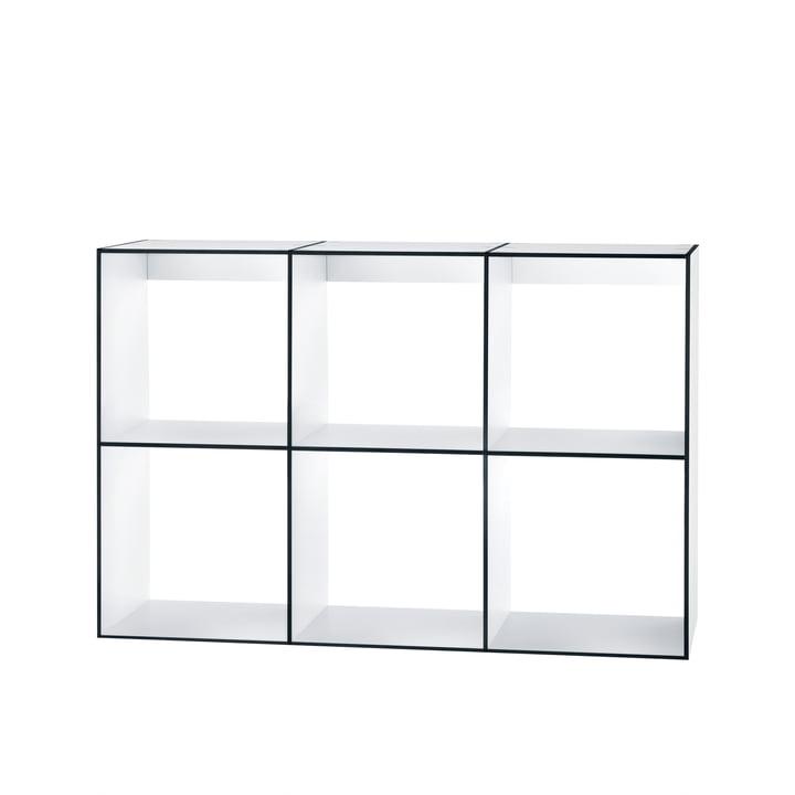 Hans Hansen - Module Shelf HP 3x2, white