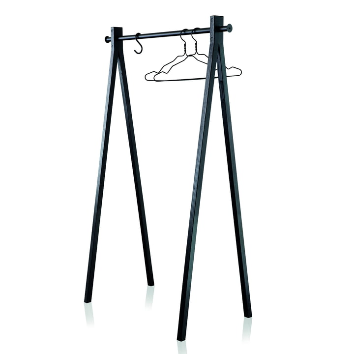 Nomess - Dress-Up Coat Rack, black / black, 90 cm
