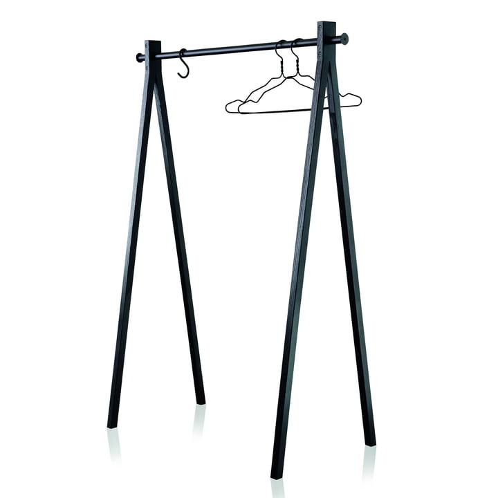 Nomess - Dress-Up Coat Rack, black / black, 120 cm