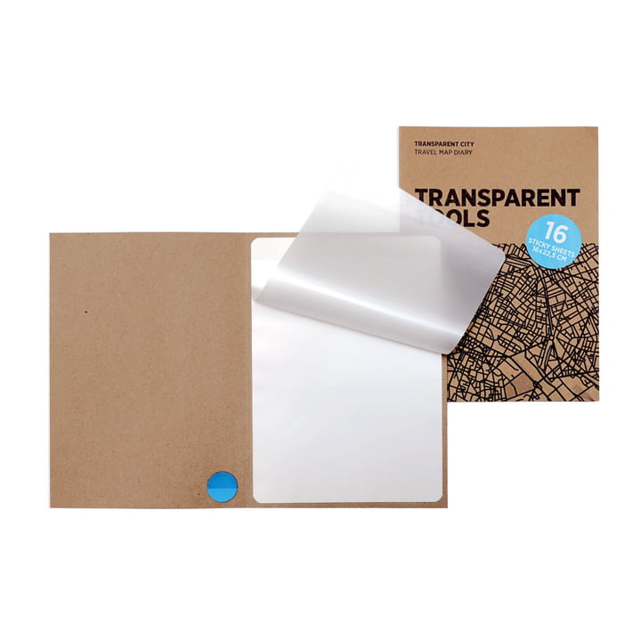 16 transparent films for Transparent City by Palomar