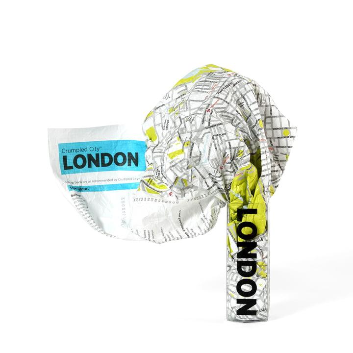 Palomar - Crumpled City Map - London