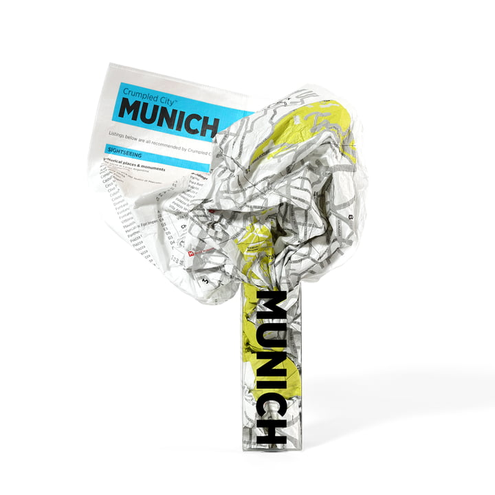 Palomar - Crumpled City Map - Munich