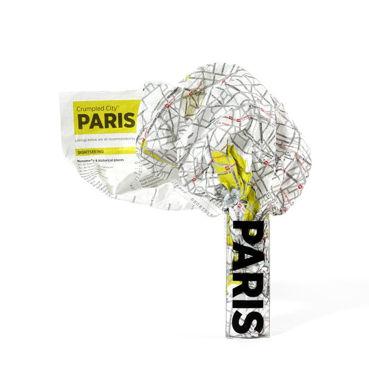 Palomar - Crumpled City Map - Paris