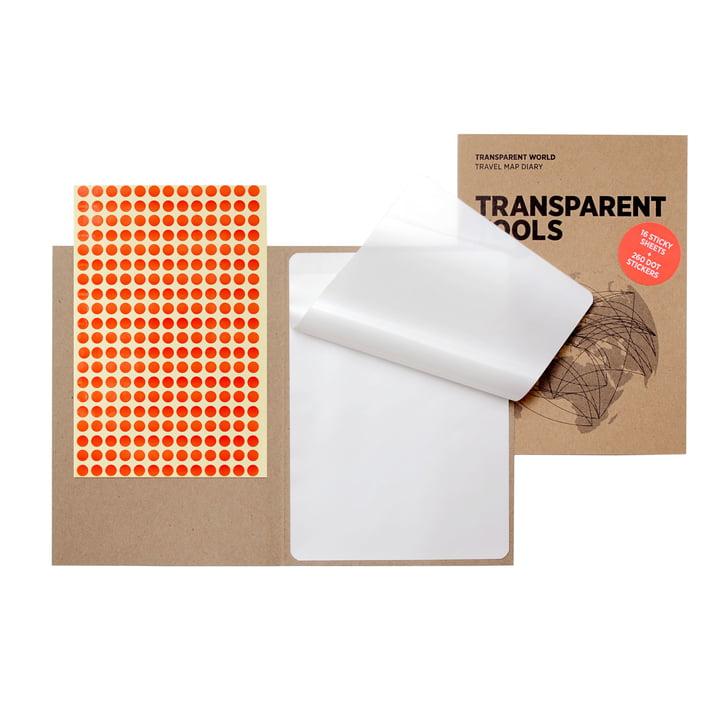 16 transparent films for Transparent World by Palomar