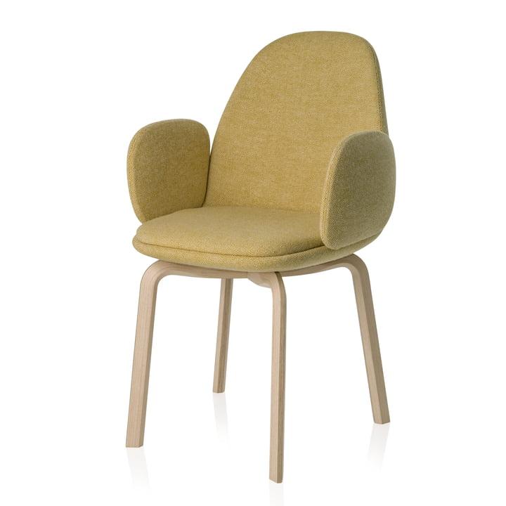 Fritz Hansen - Sammen Armchair 45.5 cm, yellow