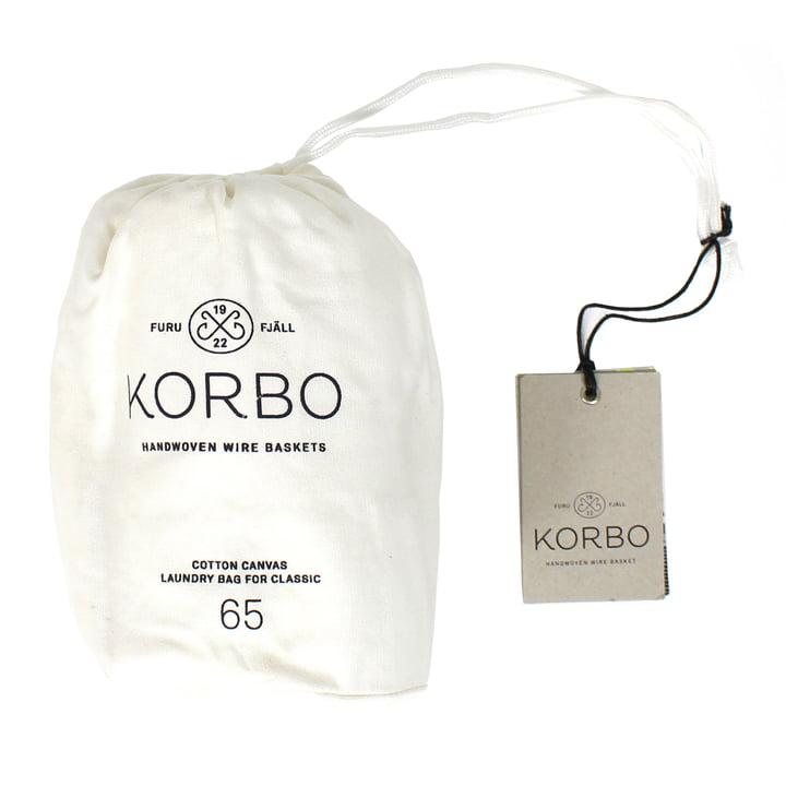 Korbo - Laundry Bag 65, white
