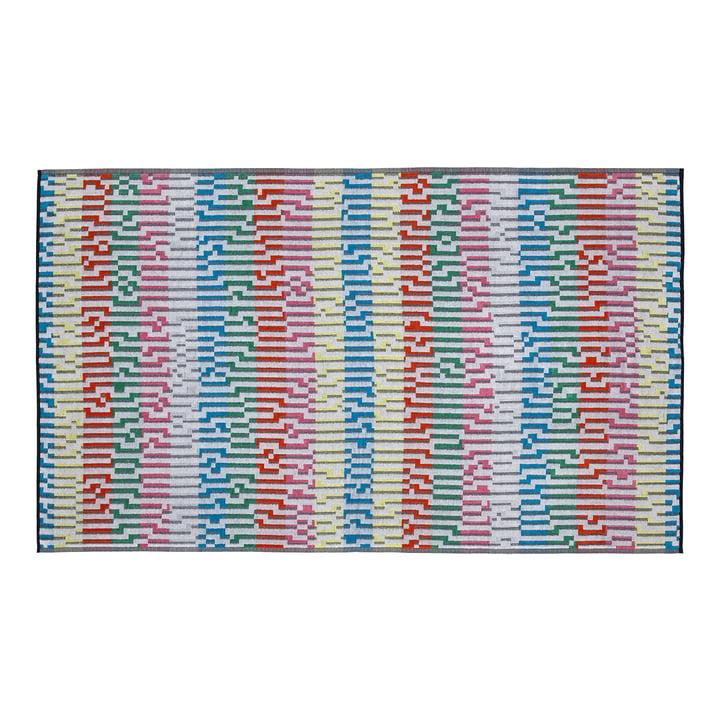 Mini White Waves Beach Towel , 100 × 180 cm
