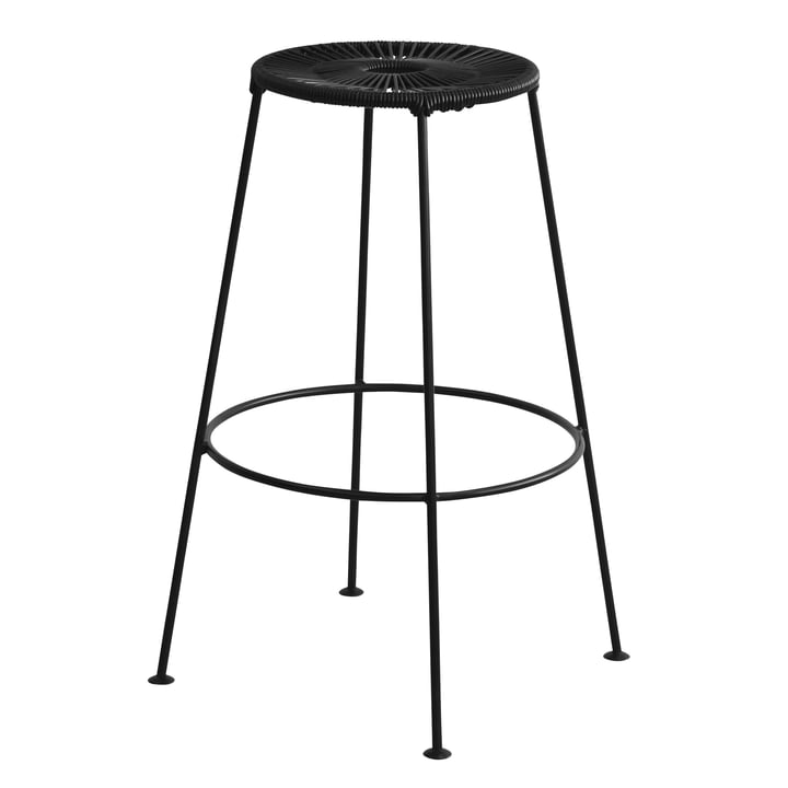 OK Design - Acapulco Barstool High, black