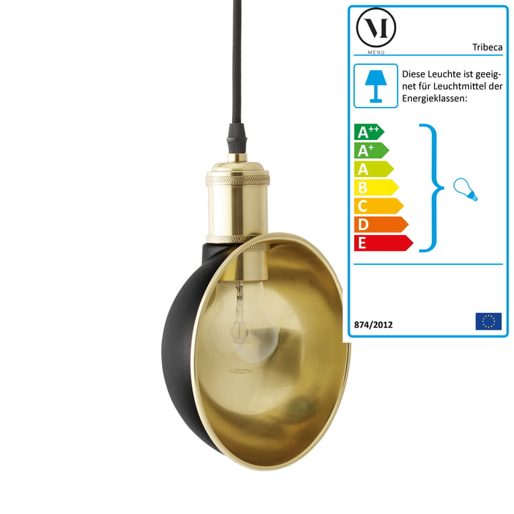 Menu - Duane Pendant Lamp, black
