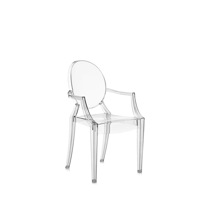 Kartell - Lou Lou Ghost, crystal clear