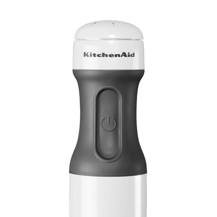 KitchenAid - Handle of the Classic Hand Blender, white