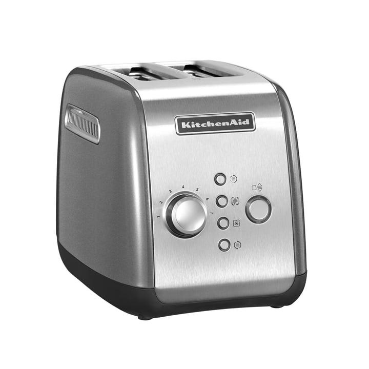 KitchenAid - Toaster KMT221, contour silver