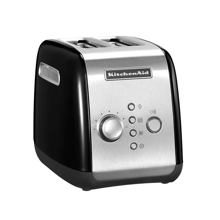 KitchenAid - Toaster KMT221, 2 Slices, onyx black
