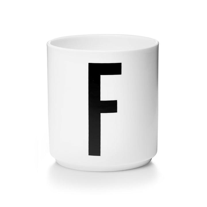 Design Letters - AJ Porcelain Cup F