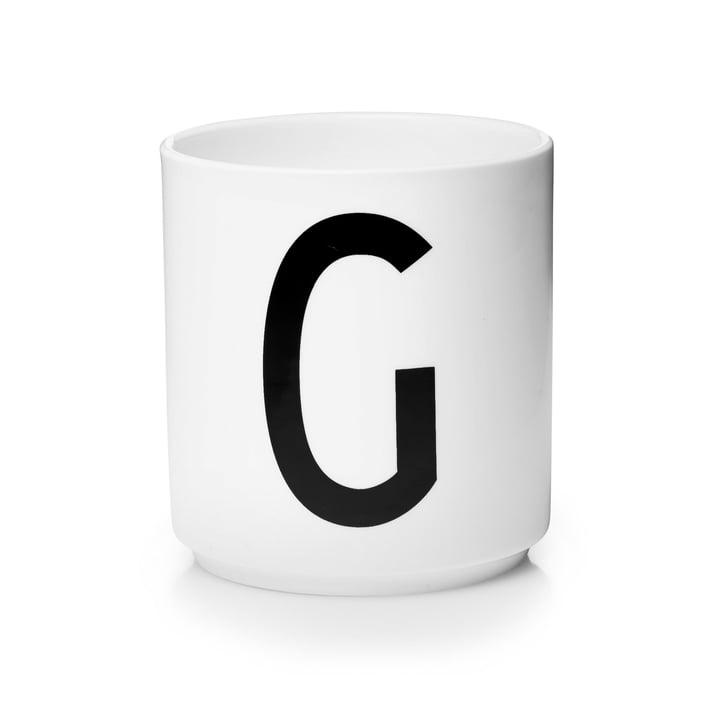 Design Letters - AJ Porcelain Cup G