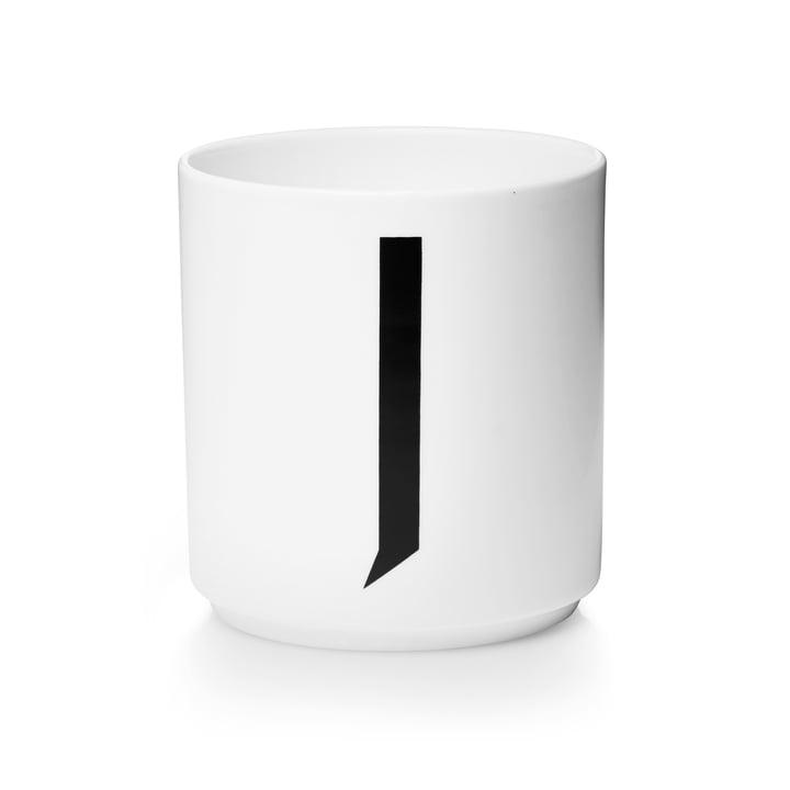 Design Letters - AJ Porcelain Cup J