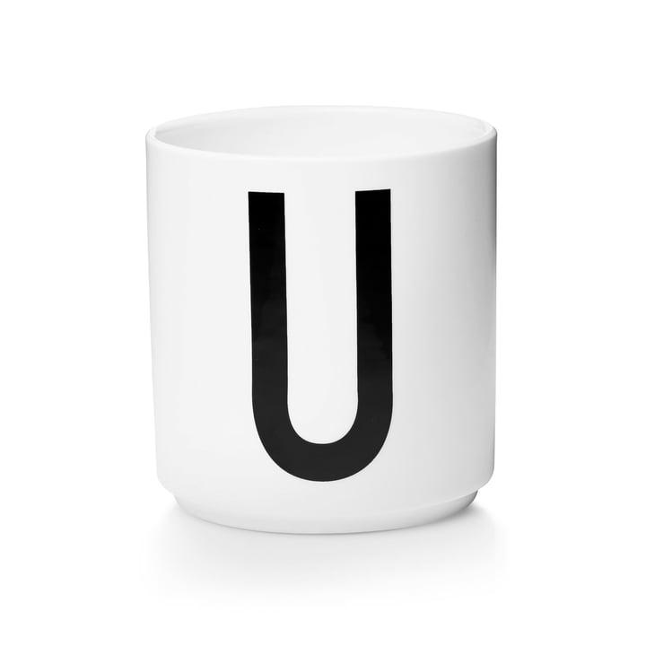 Design Letters - AJ Porcelain Cup U