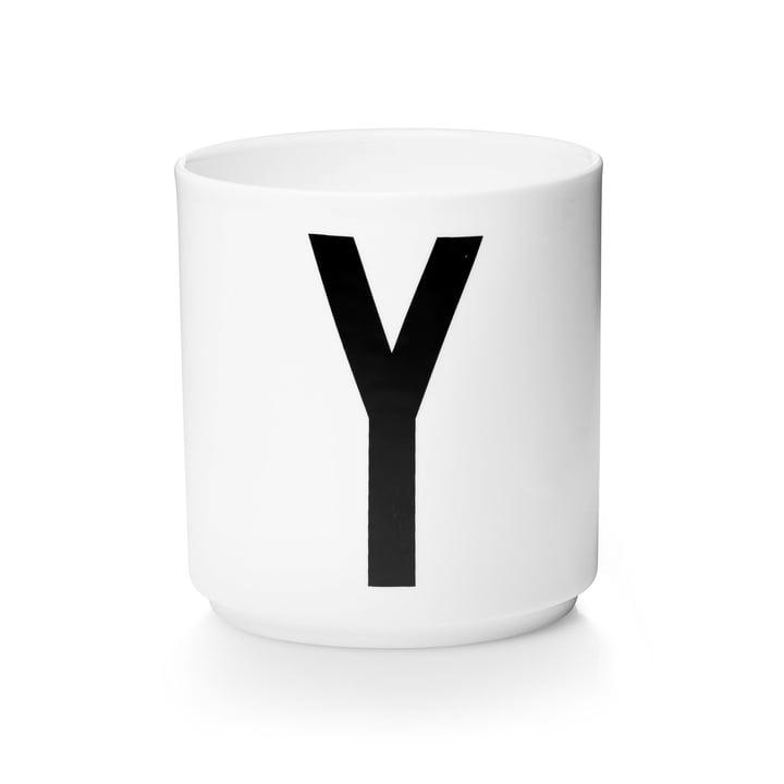Design Letters - AJ Porcelain Cup Y