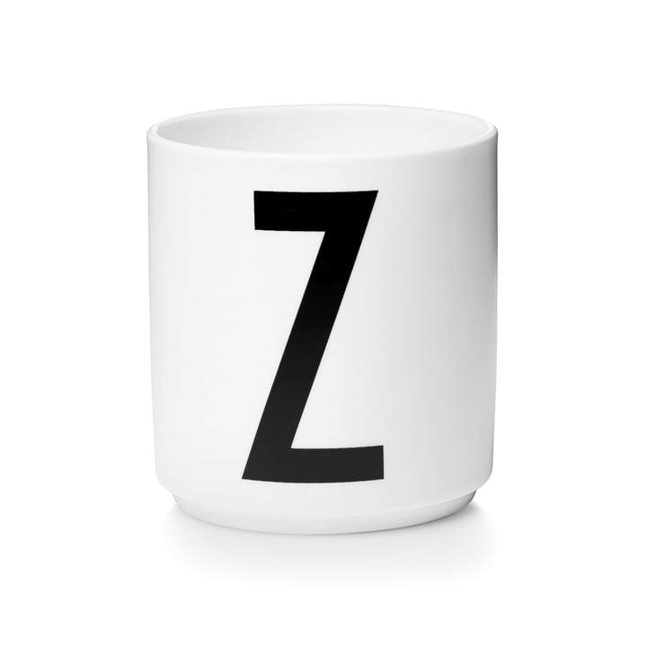 Design Letters - AJ Porcelain Cup Z
